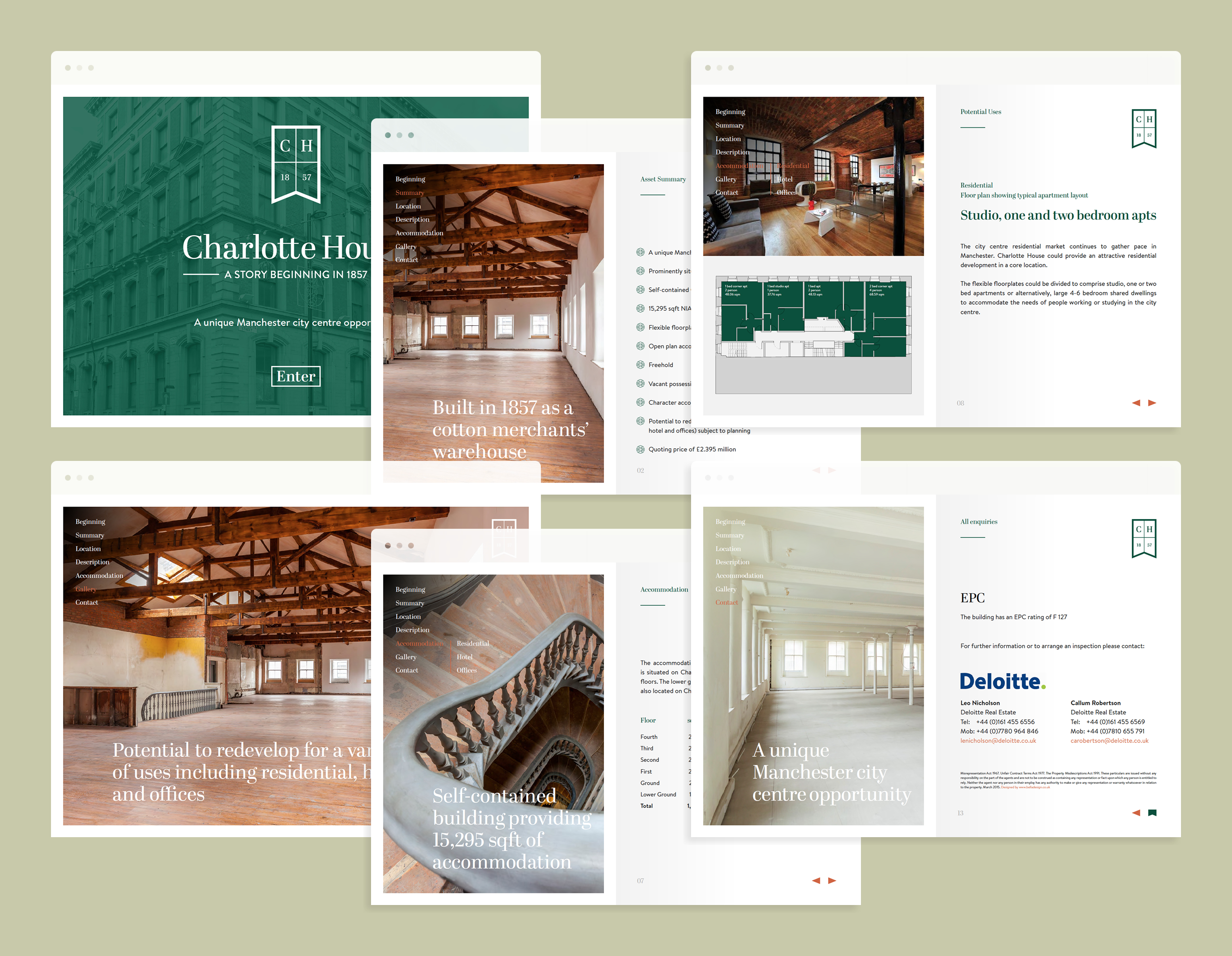 Charlotte House Digital Brochure