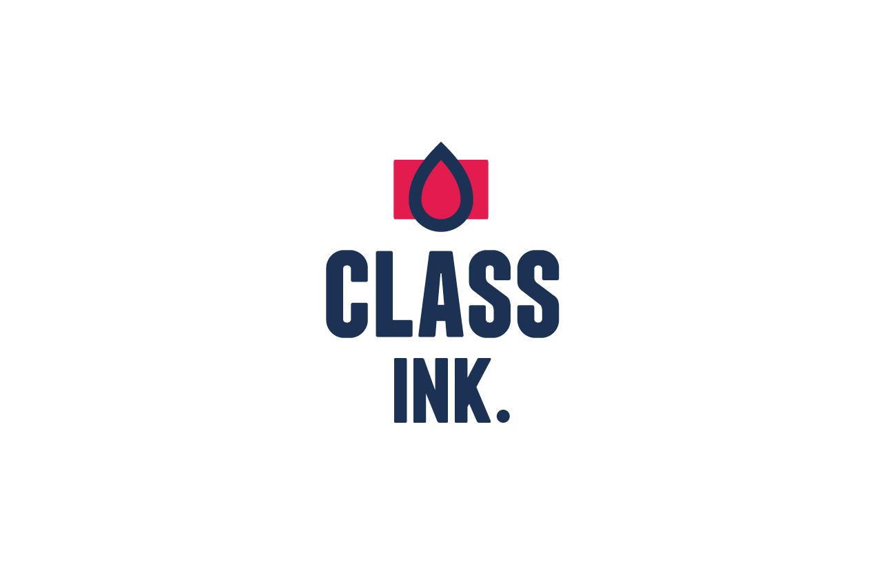 Class Ink Logo Design
