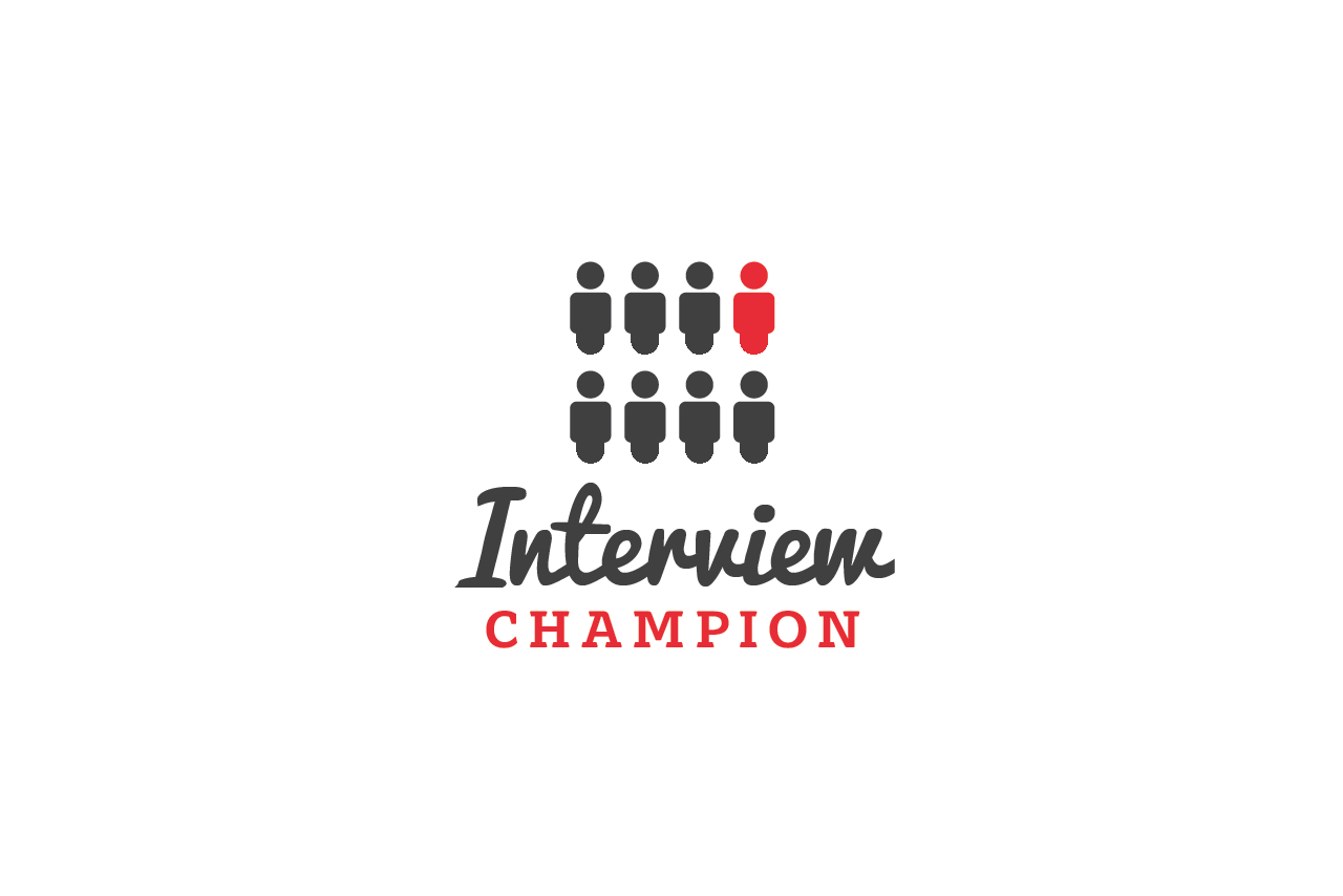 Interview Champion Logo Design