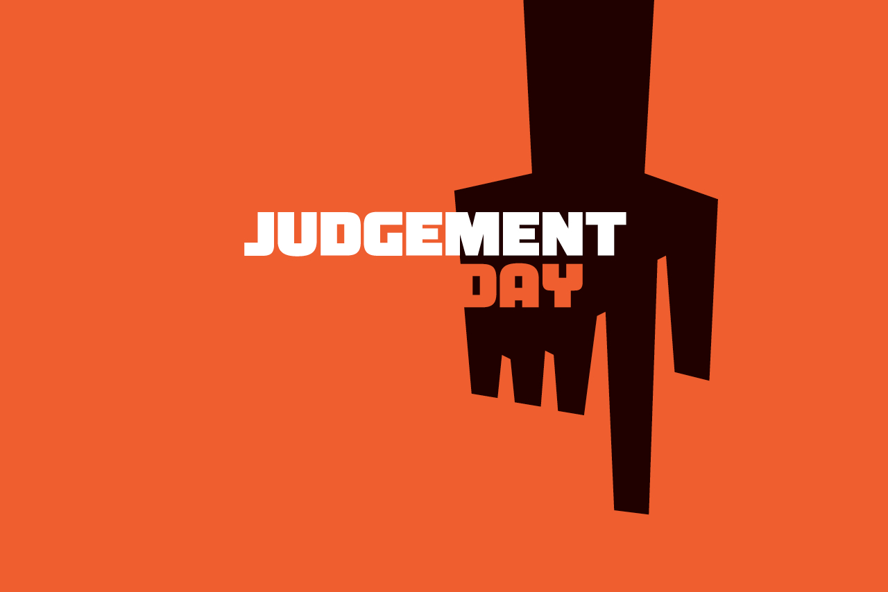 Judgement Day Logo Design
