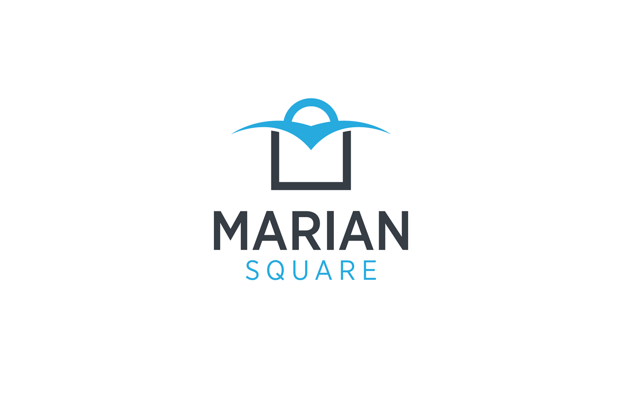 Marian Square Logo Design