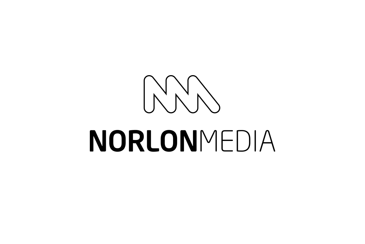 Norlon Media Logo Design
