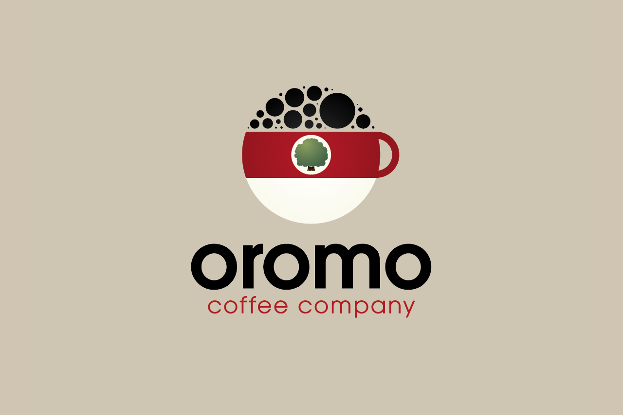 Oromo Coffee Company Logo Design
