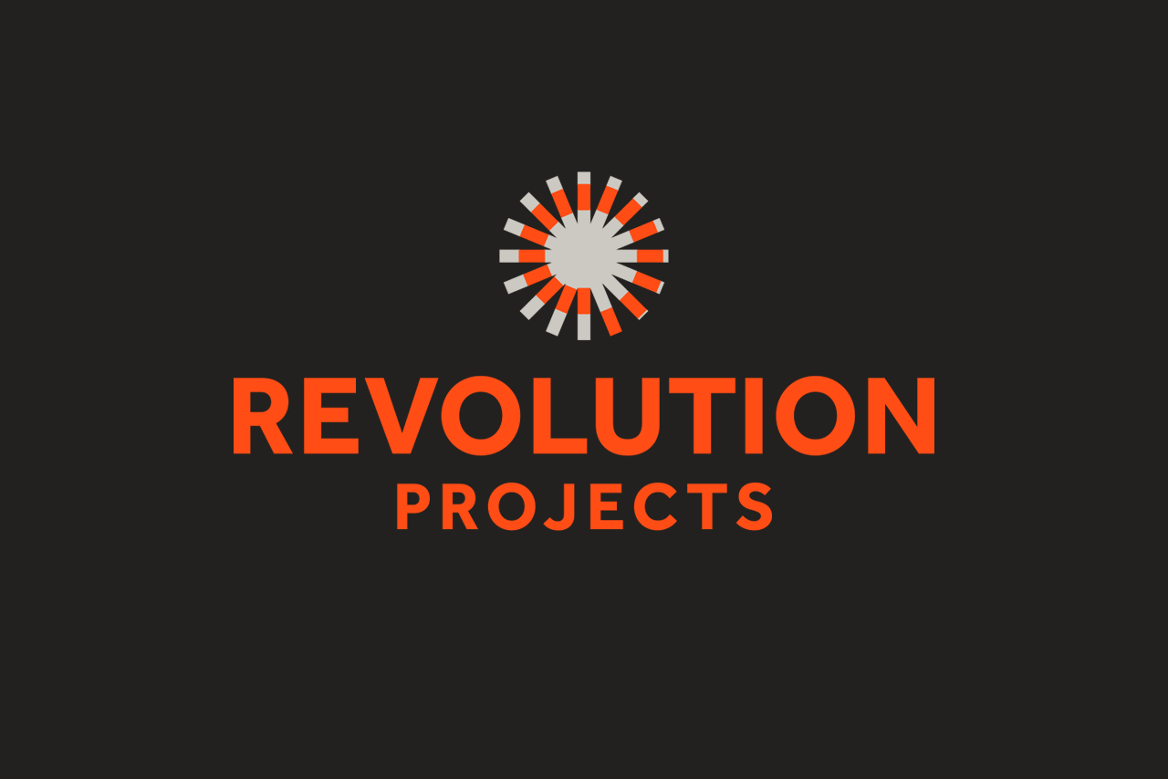 Revolution Projects Logo Design