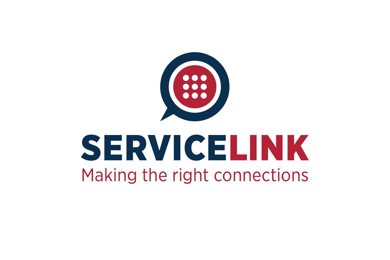 Service Link Logo Design