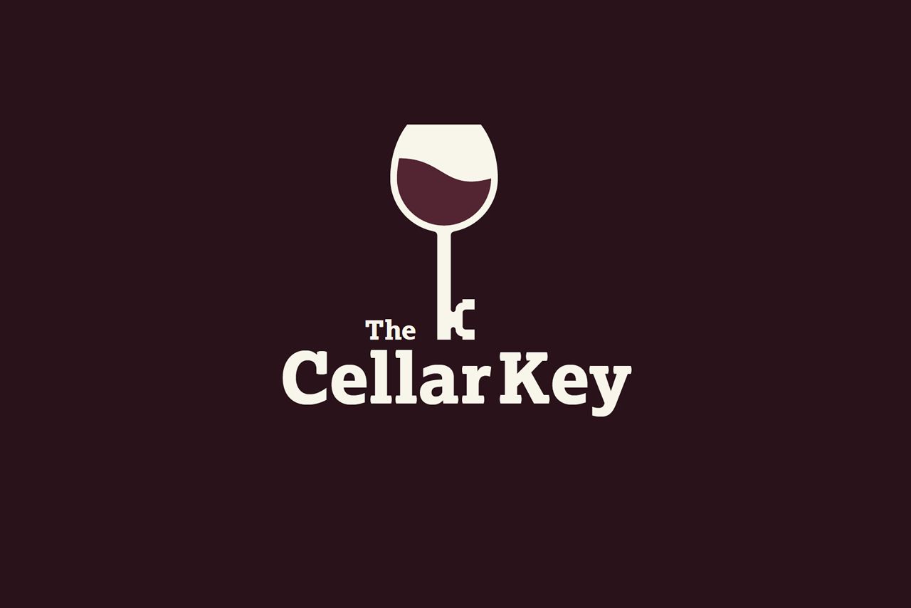 The Cellar Key Logo Design
