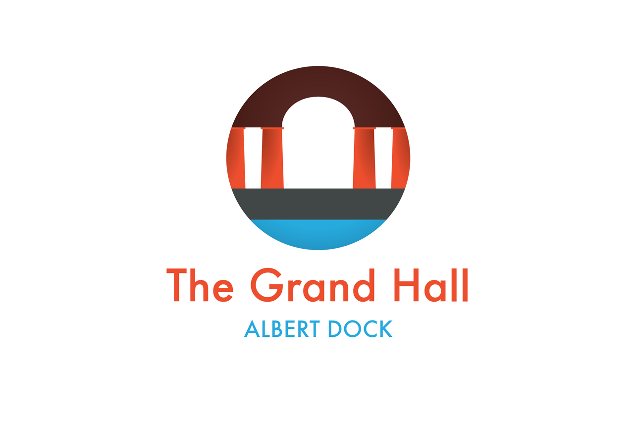 The Grand Hall, Liverpool, Logo Design