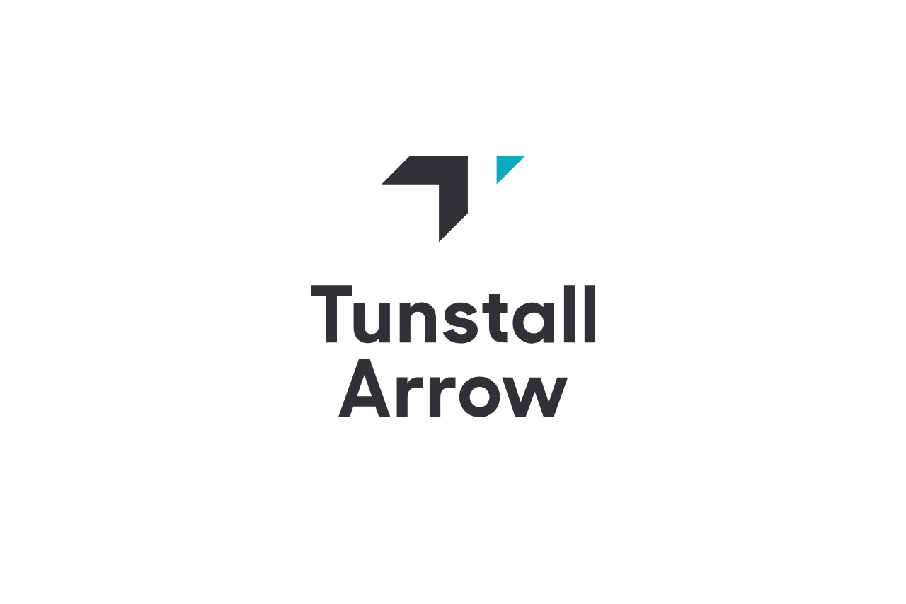 Tunstall Arrow Logo Design