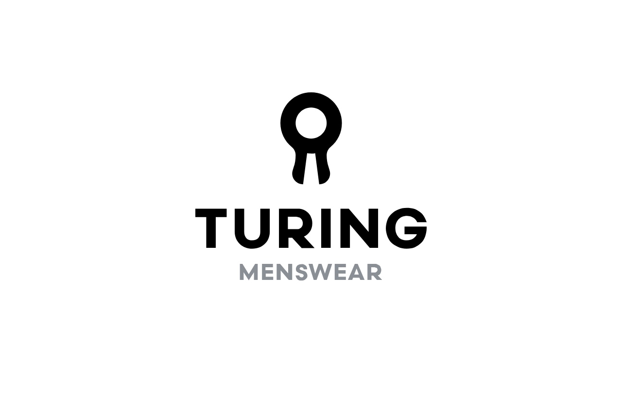 Turing Menswear Logo Design