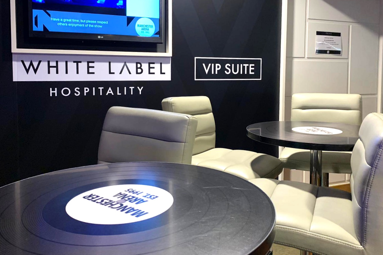 White Label Hospitality Manchester Arena VIP Suite design