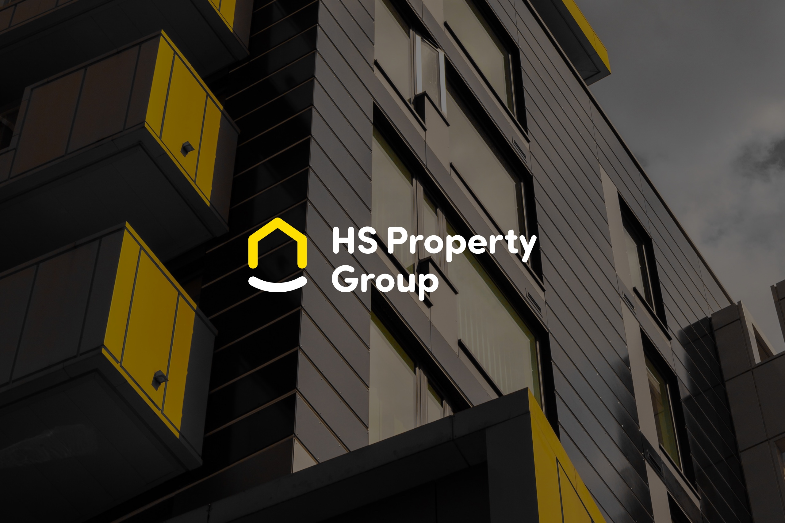 HS Property Group logo design