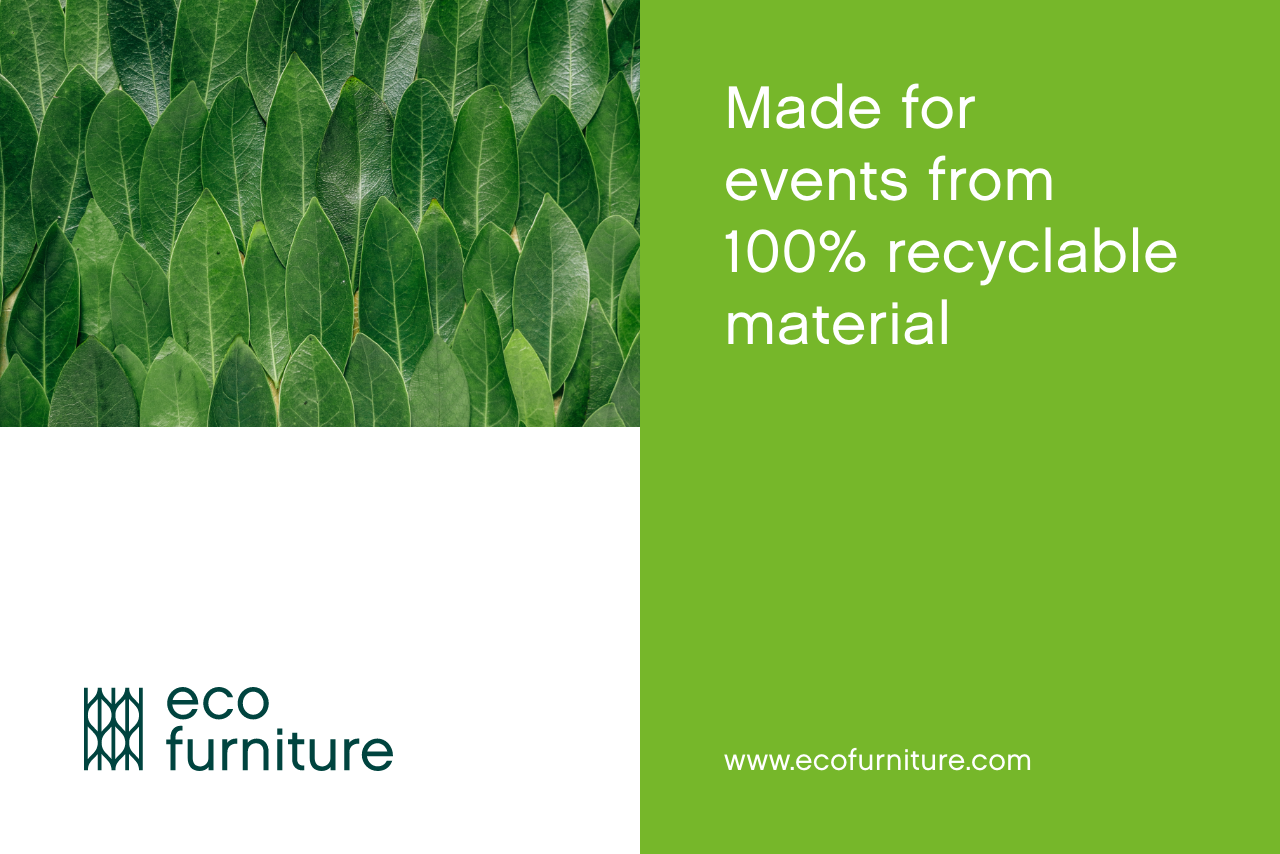 Eco Furniture 100% recyclable material