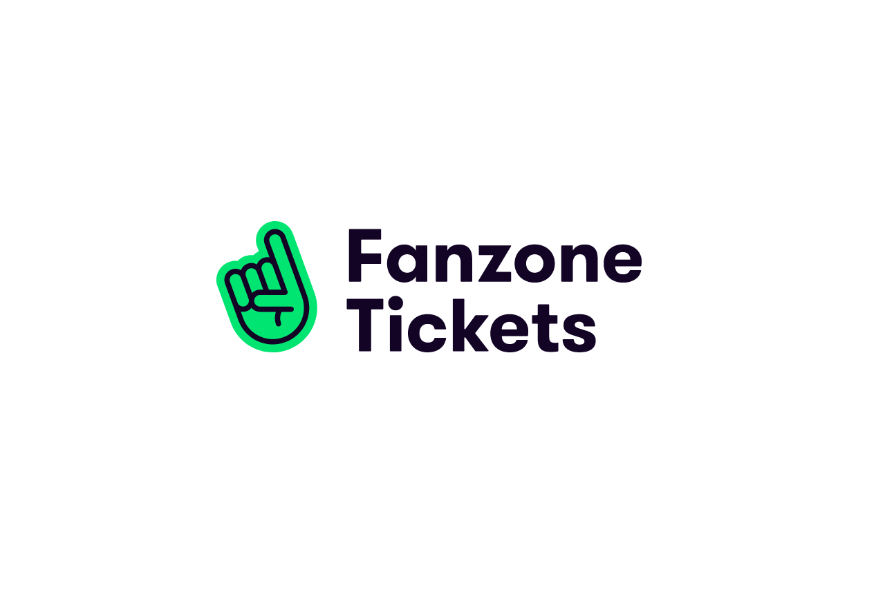 Fanzone Tickets logo design