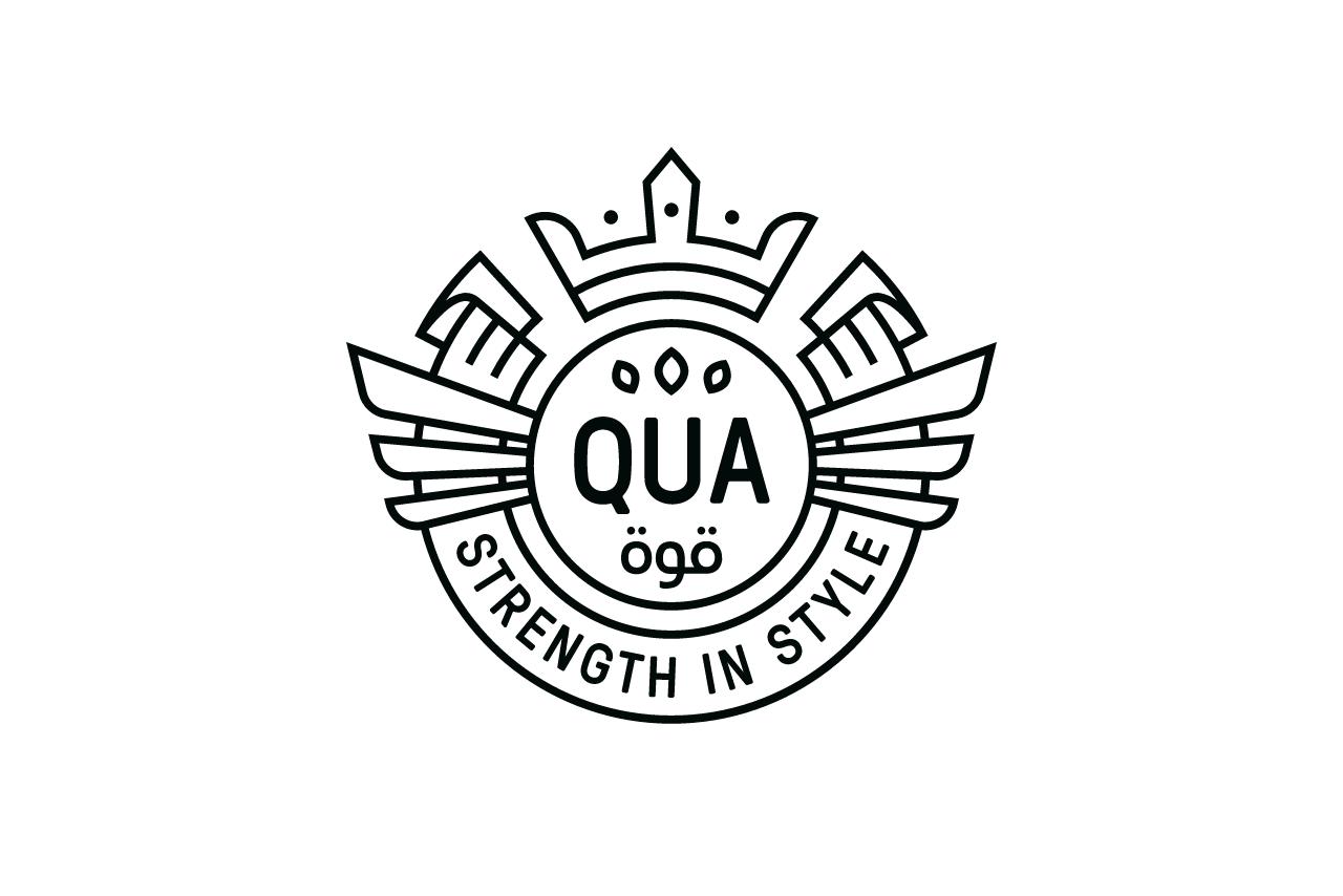 QUA - Fitness Clothing - Logo Design